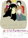 Cartoon: Kyoto Animation Fire (small) by gungor tagged japan