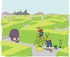 Cartoon: The maze (small) by gungor tagged fantasy