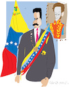 Cartoon: Nicolas Maduro Moros (small) by gungor tagged venezuela