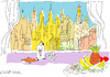 Cartoon: Skyscrapers (small) by gungor tagged architecture