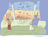Cartoon: Star Wars (small) by gungor tagged syria