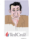 Cartoon: Ted  Cruz (small) by gungor tagged usa