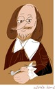 Cartoon: W.Shakespeare (small) by gungor tagged england