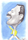 Cartoon: Freddie Mercury (small) by Tomek tagged queen