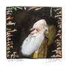 Cartoon: Charles Darwin (small) by Peter Bauer tagged charles darwin evolution peter bauer