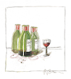 Cartoon: Ohne Titel (small) by Peter Bauer tagged wein,genuss,alkohol,missbrauch