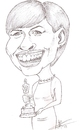 Cartoon: Anna hathaway (small) by alvaroastolfo tagged anna,hathaway