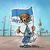 Cartoon: Ein Herthafrosch (small) by Zoltan tagged balljunge fußball hertha bsc olympiastadion berlin