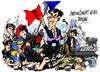 Cartoon: Sarkozy -republicano (small) by Dragan tagged nicolas,sarkozy,los,republicanos,francia,ump,politics,cartoon
