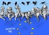 Cartoon: UE-crisis migratoria (small) by Dragan tagged ue,union,europea,crisis,migratoria,mediteraneo,politics,cartoon