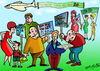 Cartoon: 20 year old Lafysti cartoon No1 (small) by johnxag tagged lafysti,cartoon,exhibition