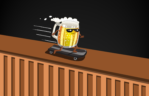 Cartoon: Beer Bar... (medium) by berk-olgun tagged beer,bar