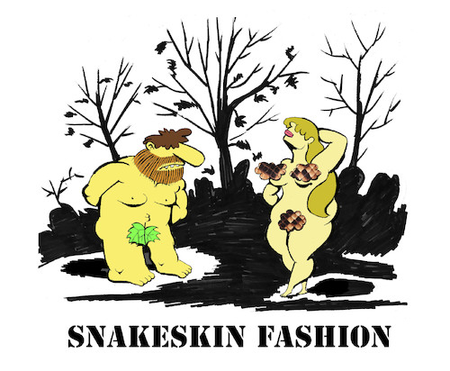 Cartoon: Snakeskin... (medium) by berk-olgun tagged snakeskin