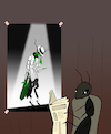 Cartoon: Ant and Grasshopper... (small) by berk-olgun tagged ant,and,grasshopper