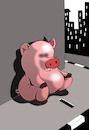 Cartoon: Beggar... (small) by berk-olgun tagged beggar