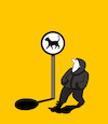 Cartoon: Black Cat... (small) by berk-olgun tagged black,cat