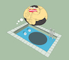 Cartoon: Cannonball... (small) by berk-olgun tagged cannonball