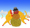 Cartoon: Cats Snowman... (small) by berk-olgun tagged cats,snowman
