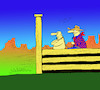 Cartoon: Centaur Rodeo... (small) by berk-olgun tagged centaur,rodeo