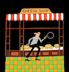 Cartoon: Cheese Shop... (small) by berk-olgun tagged cheese,shop