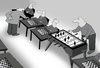 Cartoon: Chessmaster in trouble.. (small) by berk-olgun tagged chessmaster in trouble