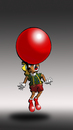 Cartoon: Clown Pinocchio... (small) by berk-olgun tagged clown,pinocchio