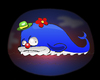 Cartoon: Clown Whale... (small) by berk-olgun tagged clown,whale