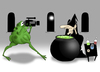 Cartoon: Cooking Show.. (small) by berk-olgun tagged cooking,show