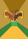 Cartoon: Corridor... (small) by berk-olgun tagged corridor