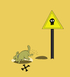 Cartoon: Danger Zone in Danger... (small) by berk-olgun tagged danger,zone,in