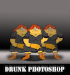 Cartoon: Drunk Photoshop... (small) by berk-olgun tagged drunk,photoshop