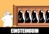 Cartoon: Einsteinguin... (small) by berk-olgun tagged einsteinguin