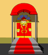 Cartoon: Entrance... (small) by berk-olgun tagged entrance