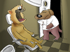 Cartoon: Fear of the Dentist... (small) by berk-olgun tagged fear,of,the,dentist