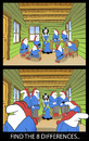 Cartoon: FIND THE 8 DIFFERENCES.. (small) by berk-olgun tagged find,the,differences