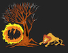 Cartoon: Forest Fire... (small) by berk-olgun tagged forest,fire