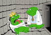 Cartoon: Frog Prince... (small) by berk-olgun tagged frog,prince