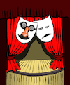 Cartoon: Funny Glasses... (small) by berk-olgun tagged funny,glasses