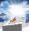 Cartoon: Hamster in Heaven... (small) by berk-olgun tagged hamster,in,heaven