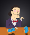 Cartoon: Hypnosis... (small) by berk-olgun tagged hypnosis