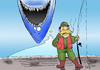 Cartoon: JAWS... (small) by berk-olgun tagged jaws