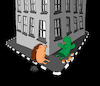 Cartoon: Love at First Sight... (small) by berk-olgun tagged love,at,first,sight