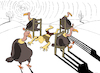Cartoon: Musical Chairs... (small) by berk-olgun tagged musical,chairs