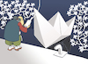 Cartoon: Origami Master... (small) by berk-olgun tagged origami,master