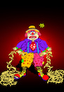 Cartoon: Poor Clown... (small) by berk-olgun tagged poor,clown