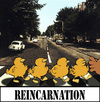 Cartoon: REINCARNATION... (small) by berk-olgun tagged reincarnation