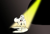 Cartoon: Seeing the Light... (small) by berk-olgun tagged dentist