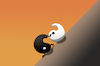 Cartoon: Sisyphus... (small) by berk-olgun tagged sisyphus
