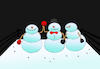 Cartoon: Snowman Boxing... (small) by berk-olgun tagged snowman,boxing