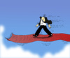 Cartoon: The Red Fliying  Carpet... (small) by berk-olgun tagged the,red,fliying,carpet